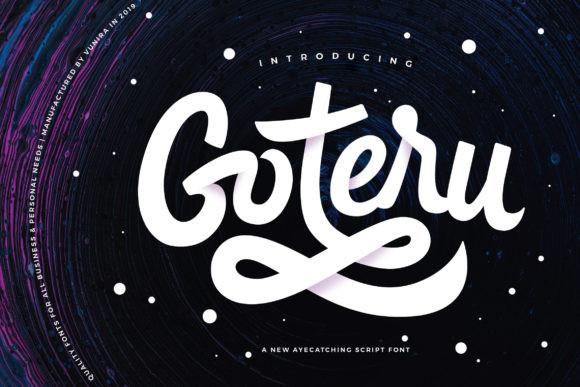 Goteru Font