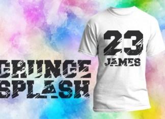 Grunge Splash Font