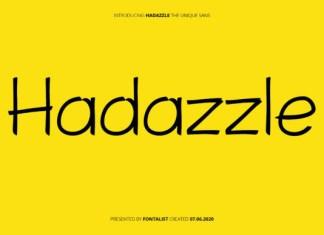 Hadazzle Font