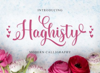 Haghisty Font