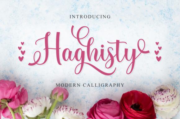 Haghisty Font