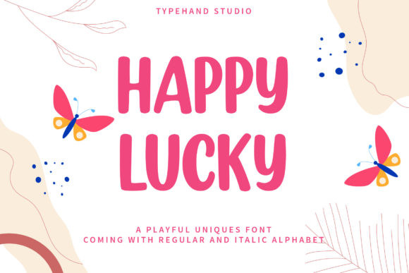 Happy Lucky Font
