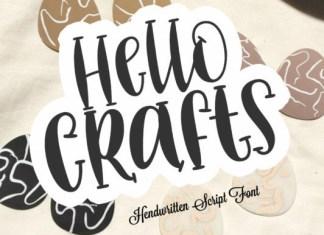 Hello Crafts Font