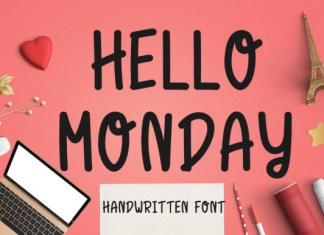Hello Monday Font