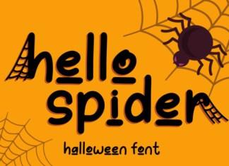 Hello Spider Font