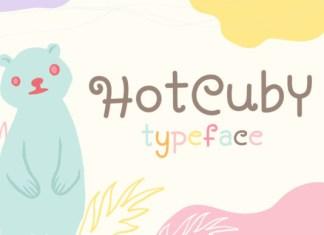 Hot Cuby Font