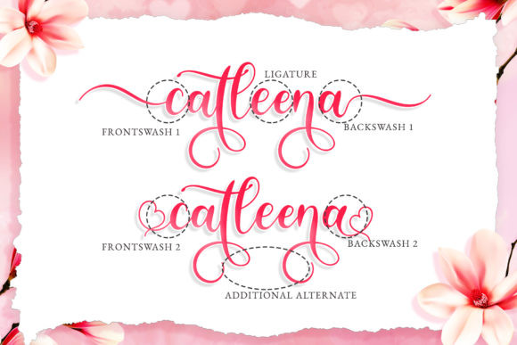 Katlina Birthdate Font