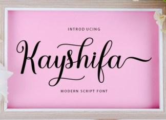 Kayshifa Font