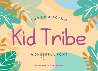 Kid Tribe Font