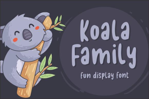 Koala Family Font