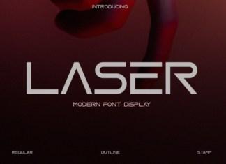 Laser Font