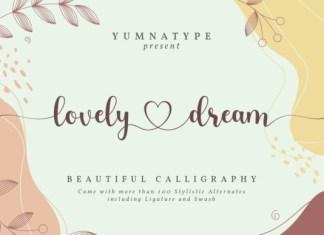 Lovely Dream Font