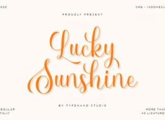 Lucky Sunshine Font