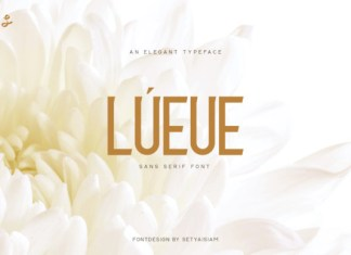 Lueue Font