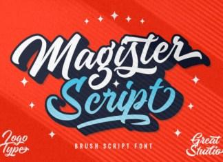 Magister Script Font