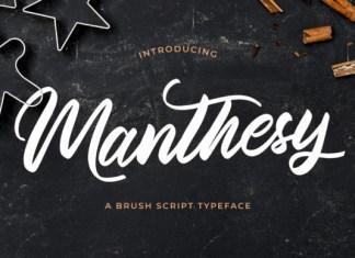Manthesy Font