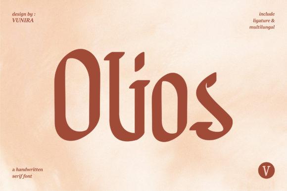 Olios Font