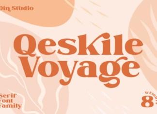 Qeskile Voyage Font