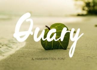 Quary Font