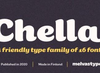 Chella Font