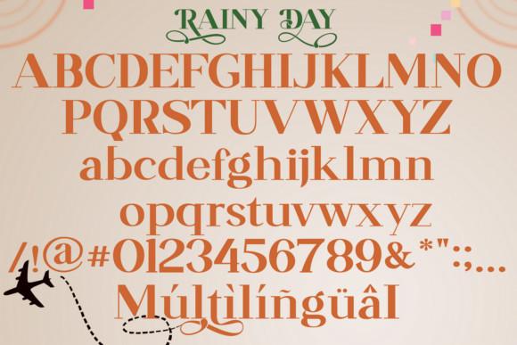 Rainy Day Font