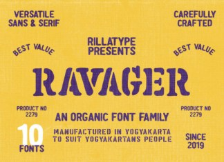 Ravager Font
