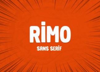 Rimo Font