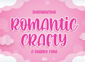 Romantic Crafty Font