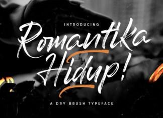 Romantika Hidup Font