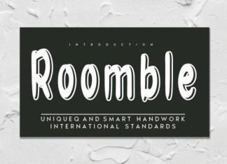 Roomble Font