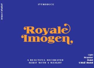 Royale Imogen Font