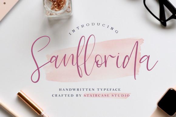 Sanflorida Font