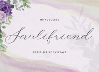 Saulifriend Font