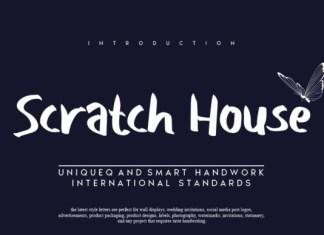 Scratch House Font