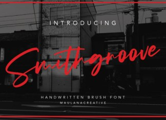 Smithgroove Font