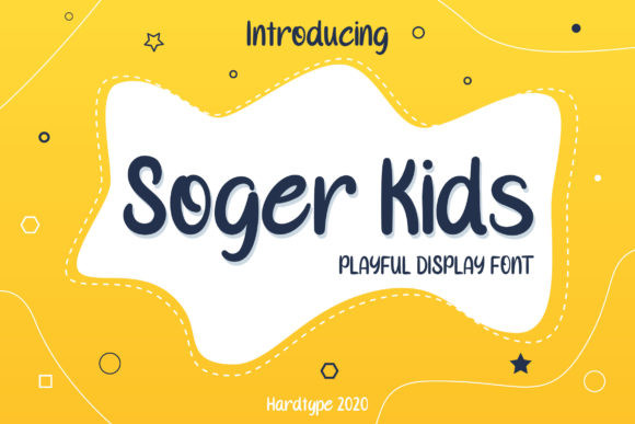 Soger Kids Font