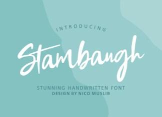 Stambaugh Font