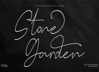 Stone Garden Font