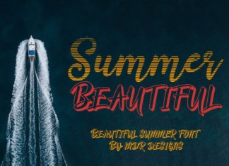 Summer Beautiful Font