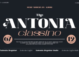 The Antonia Font
