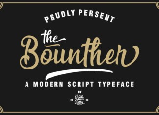 The Bounther Font
