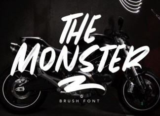 The Monster Font
