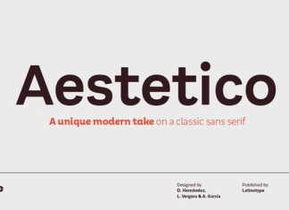 Aestetico Font Family