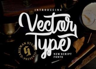 Vector Type Font