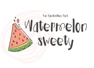 Watermelon Sweety Font