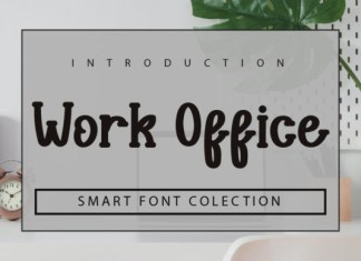 Work Office Font
