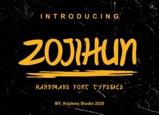 Zojihun Font