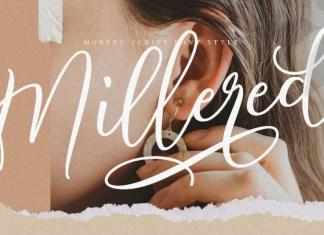 Millered Font