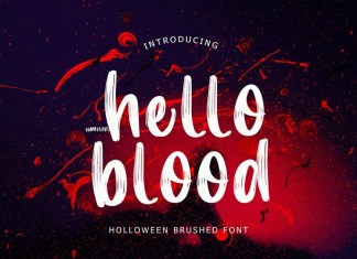 Hello Blood Font