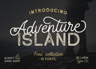 Adventure Island Font Duo